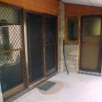 Aluminium security screens